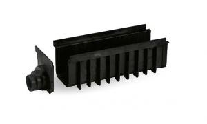 """ITADECO Odvodňovací žlab ,,SPECIÁL"""" černý 200x500mm H185mm"""