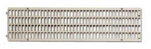 ITADECO Mříž pro žlab z polypropylenu šedá A15 130x500mm
