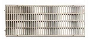 ITADECO Mříž pro žlab z polypropylenu šedá A15 200x500mm