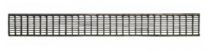 ITADECO Mříž pro žlab pozink B125 130x1000mm