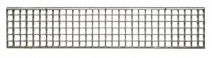 ITADECO Mříž pro žlab pozink B125 200x1000mm