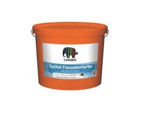 Silikátová fasádní barva CAPAROL Sylitol Fassadenfarbe 25kg