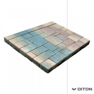 Skladebná dlažba DITON Mozaika (Lyon) - RUDEN
