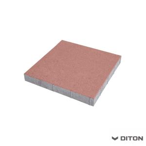 Plošná dlažba DITON Standard 30/30/4 - ČERVENÁ