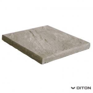 Bazénový lem DITON Břidlice reliéfní - rohový vnější - PŘÍRODNÍ