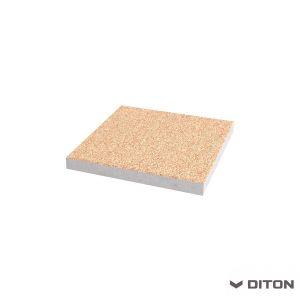 Plošná betonová dlažba vymývaná DITON - Dlaždice 40x40x4 - CREMA