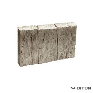 Imitace dřeva DITON Obrubník palisádový vzor DUB - ARKTIC