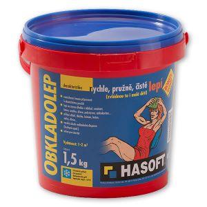 Lepicí hmota určená pro lepení obkladů a dlažeb HASOFT OBKLADOLEP 1,5kg