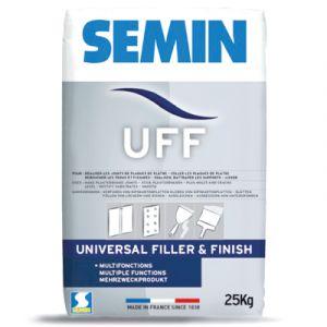 Univerzální výplňový, lepící a finální tmel SEMIN UFF 25kg