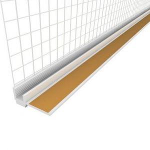 Začišťovací okenní profil s tkaninou APU lišta 6mm/2,4m EKO