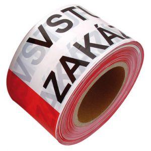 páska výstražná ZÁKAZ VSTUPU 80mm/250m