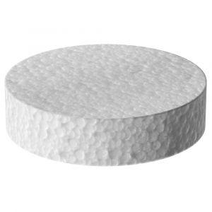 Polystyrénová zátka 70mm bílá
