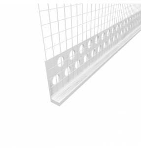 fasádní profil ukončovací 3mm LC-L 2,5m tkanina