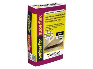Weber.for superflex Lepící tmel 25kg (C2TE S2)
