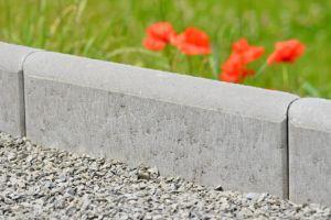 AZ BETON Obrubník zahradní P+D 20 polokulatý(500/200/50) šedý