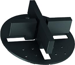 ITADECO spárovací křížek s kotoučkem bez trnu 4mm (50/15/4)