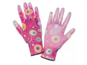 LAHTI PRO rukavice ruzove vel. 8