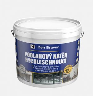 Akrylátový podlahový nátěr rychleschnoucí šedý 4kg