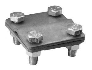 Svorka zemnící SR3b - Zn (páska+drát)