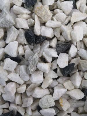OK Mramor drcený 8-12 Carrara bílá