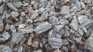 OK Zkamenělé dřevo - kůra karamelově stříbrná 32-63 mm