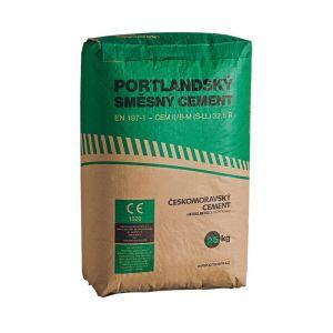 Portlandský směsný cement ČESKOMORAVSKÝ CEMENT 32,5 R 25 kg