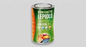 Rozpouštědlové lepidlo pro pokládku měkkých krytin -UNIXIN S4 0,5 L