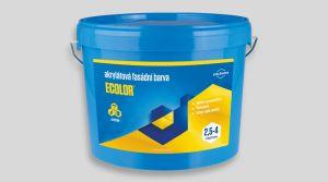 Akrylátová fasádní barva - ECOLOR 7,5 Kg