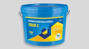 Akrylátová fasádní barva strukturní -  ECOLOR S 15 Kg