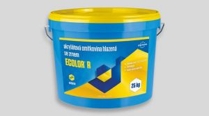 Akrylátová omítkovina hlazená - ECOLOR R 25 Kg