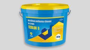 Akrylátová omítkovina rýhovaná - ECOLOR O 25 Kg