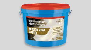 Extra silikonová hlazená omítkovina - SILCOLOR ACTIVE LONGLIFE 25 Kg