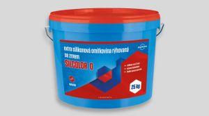 Extra silikonová omítkovina rýhovaná -  SILCOLOR O 25 kg