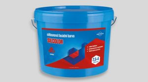 Silikonová barva - SILCOLOR 3,5 Kg