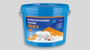 Akrylátová barva pro interiéry - ECOLOR IN 45 Kg