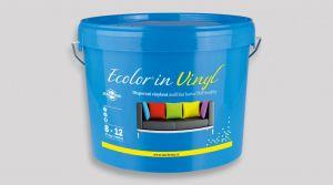 Disperzní vinylová malířská barva TOP kvality - ECOLOR IN VINYL 4 Kg